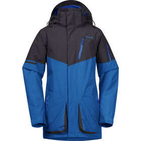 Bergans Knyken Insulated Jacket Youth, strong blue/solid charcoal